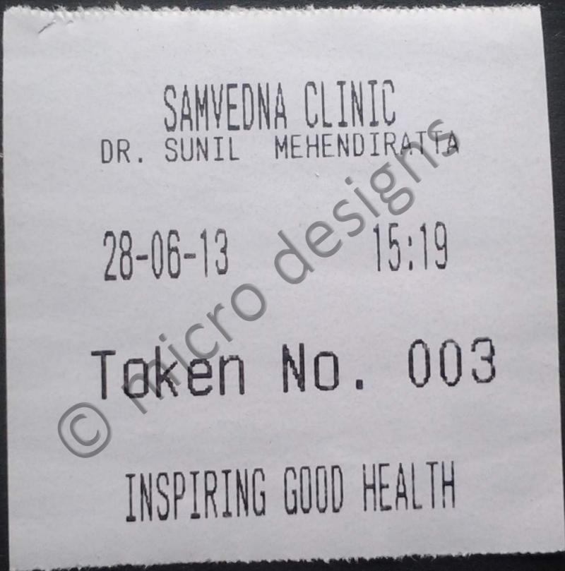 Token Slip Clinic